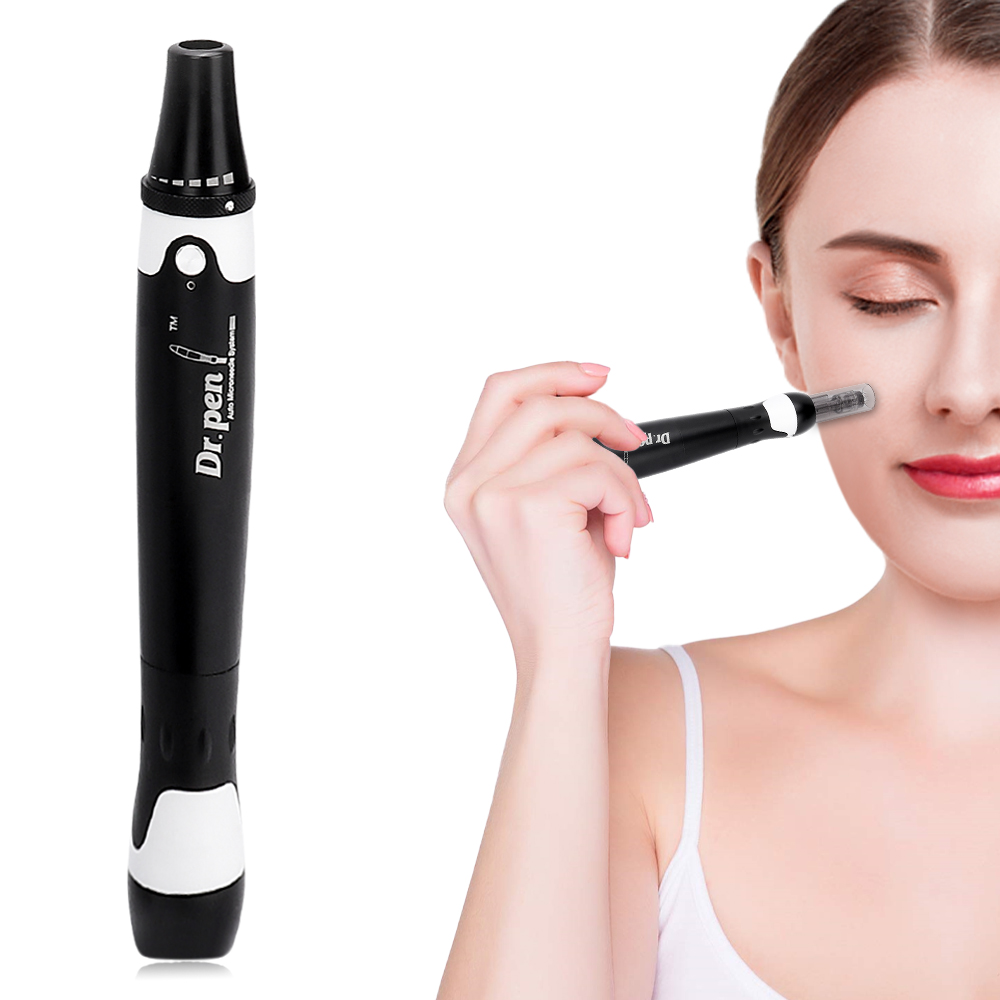 Derma Pen Ultima A7 Dr Pen Microneedeling Pen Therapy System Derma Rolling Acne Wrinkle Removal Skincare With 12pin Needles