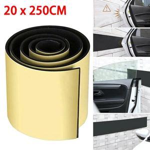 Car Door Protector Garage Wall Bumper Sticker Parking Corner Strips Protection Auto DIY Scratch-resistant Foam Strip For Garages(China)