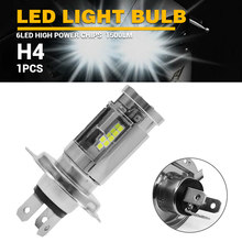 DERI 1pc/2pcs H4 Ampoule LED Moto Bombilla MotoMotorcycle LED Light Bulb Moto 12V Moto or Cars Scooters Lighting(China)