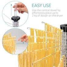 Держатель для лапши для спагетти, сушилка для пасты, кухонные ручные Нескользящие подставки, подвесные складные инструменты для домашнего вращения, аксессуары