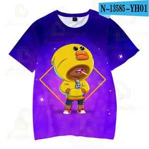 Image 5 - 2 To 13 Years Kids T shirt Shooting Game Kids Boys Girls Short Sleeve tshirt T Shirt Streetwear Cartoon Children T shirt Tops
