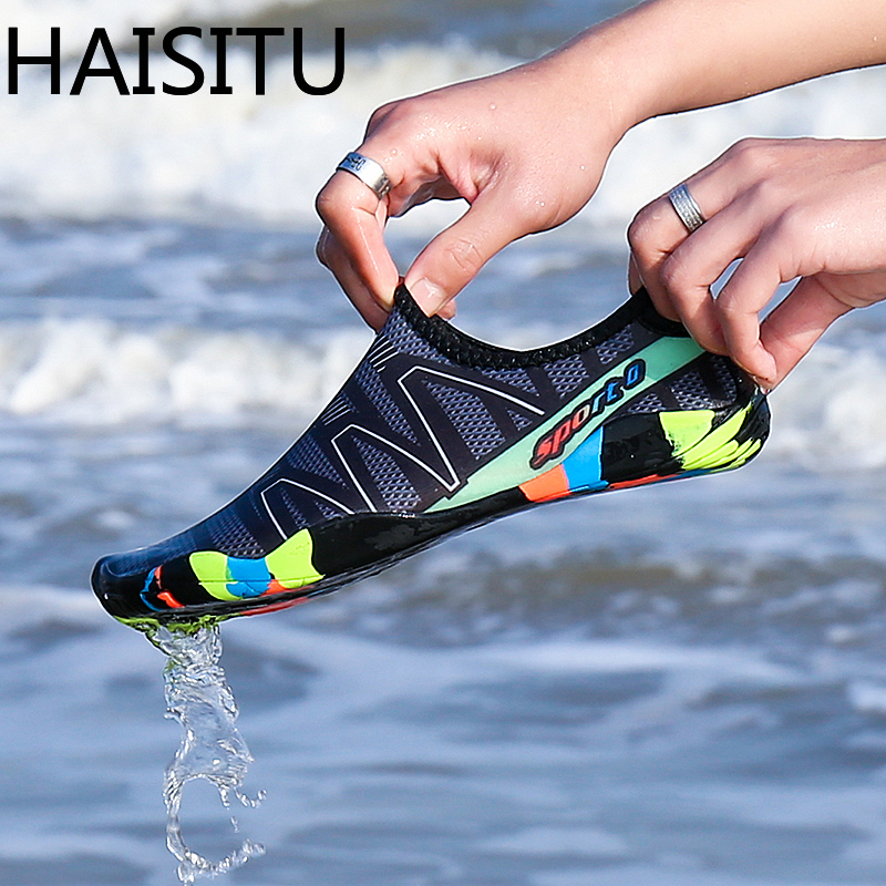 Size 35-46 Unisex Sneakers Swimming Shoes Quick-Drying Aqua Shoes And Wading Shoes Zapatos De Mujer For Beach Men Shoes