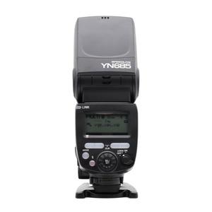Image 2 - YONGNUO YN685 YN 685 C N YN685C Flash Speedlite Wireless 2.4G HSS TTL iTTL for Canon Nikon D750 D810 D7200 D610 D7000 Camera