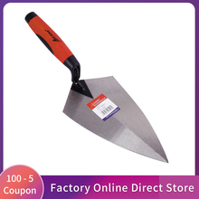 Construction Tools 5/6/10/11/12 inch Putty Knife Brick Trowel Laying Carbon Steel Blade Pointing Plaster Tools Carbon Steel