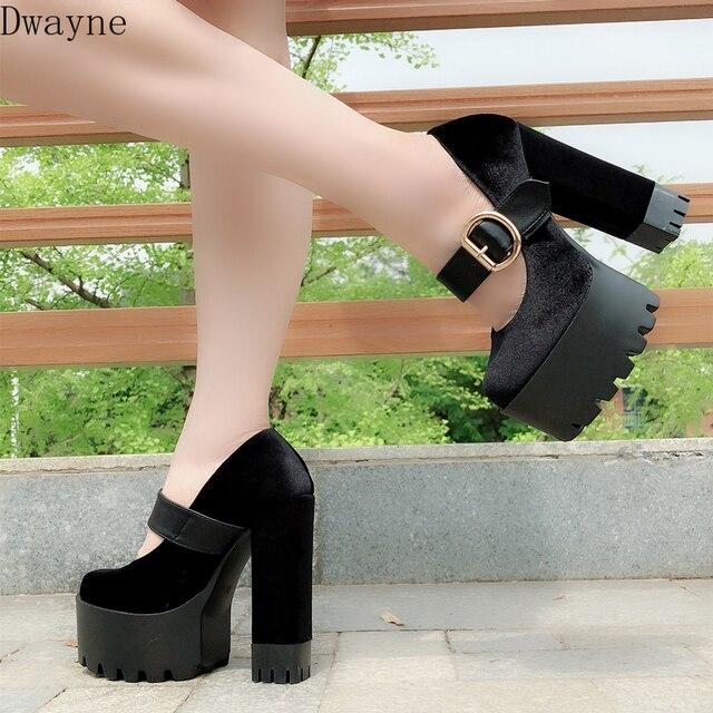 الصيف جديد عالية كعب أحذية نسائية البرية الأسود الجلد المدبوغ أحذية نسائية مثيره 5