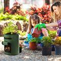 Пакеты для выращивания овощей, картофеля, моркови, лука на 7/10 галлонов, садовые инструменты для посадки, тканевые горшки