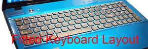 Image 5 - HRH wyczyść ultra cienki TPU klawiatura laptopa Protector pokrywa skóry dla Lenovo IdeaPad Z580 Z560 Z565 Z570 Z575 G580 Z585 Y50 Y510P
