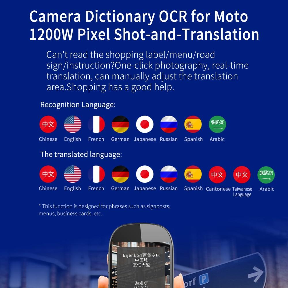 Image 3 - Portable AI Smart Voice Translator traductor de idiomas en tiempo real 76 Language instant Translator Photo Offline translation-in Translator from Consumer Electronics