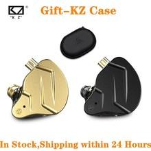 2020 KZ ZSN פרו X/ZSN PROX 1BA + 1DD היברידי באוזן אוזניות HIFI DJ צג ריצה ספורט אוזניות אוזניות Earbud עבור ZSX ZSTX ZAX