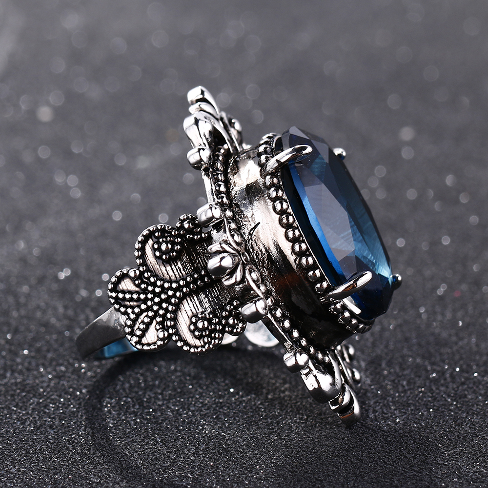Bague Ringen New Arrival Vintage Big Oval Sapphire Gemstome Rings For Women Men 925 Sterling Silver Ring Anniversary Party Gifts Hddda207b49af4552a16627ea7bde91f9M ring