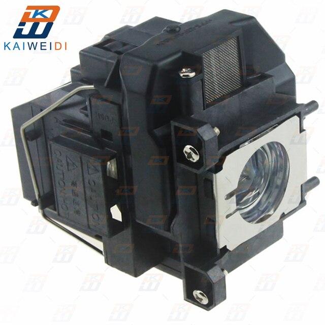 โปรเจคเตอร์โคมไฟ V13H010L67 หลอดไฟ ELPL67 สำหรับ Epson EB W16 EB W16SK EB X02 EB X11 EB X12 EB X14 EB X15 EH TW480 EH TW510 EH TW550