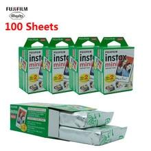 Пленка Fujifilm Instax Mini 10 20 40 60 80 100 листов для камеры FUJI Instant Photo Camera Mini 11 9 Mini 8 7s 70 90 новая горячая распродажа