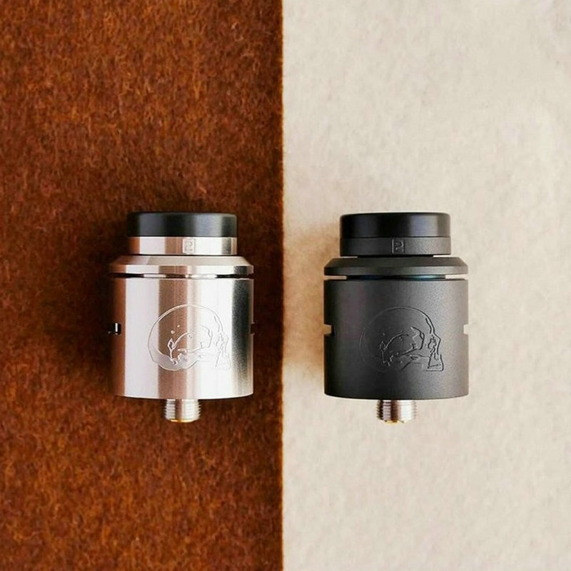 Newest C2MNT Rda V2 RDA With Bf Pin Rebuildable 24mm Atomizer Compatible With Mechanical Mod Extra Free 810 Drip Tip