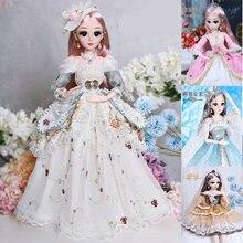 Шарнирная кукла принцесса 60 см 18 подвижных шарнирных кукол