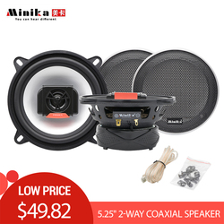 Minika 5.25 Inch 220W Auto Car 13 cm audio Speakers set in the car 2-way Coaxial Speaker for car 5.25