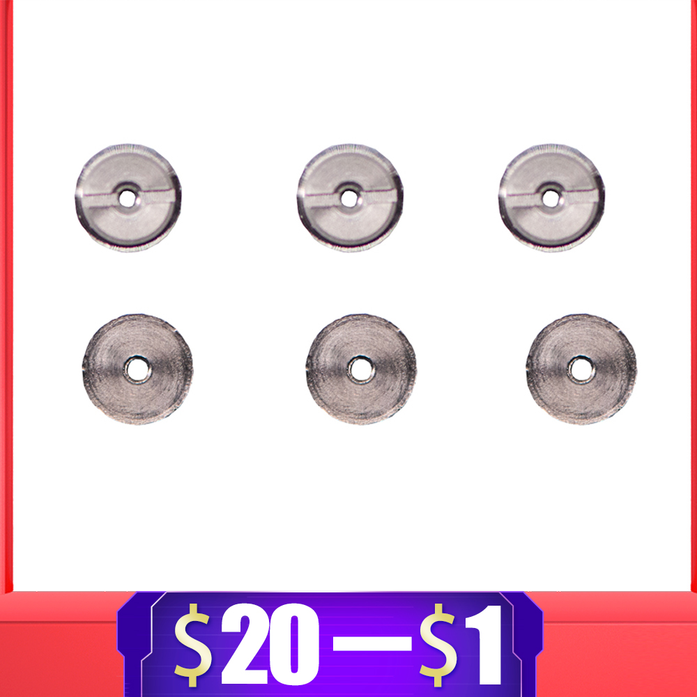 6pcs Stainless Steel Ball Bushing For Airsoft AEG Gel Blaster Gearbox Paintball Accessories 6mm/7mm/8mm/9mm