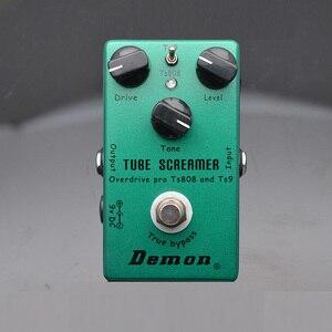 Image 2 - Demônio ts808 tubo screamer overdrive pro pedal efeito guitarra elétrica do vintage