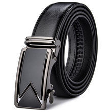 Luxury Automatic Buckle Belts Brown Black