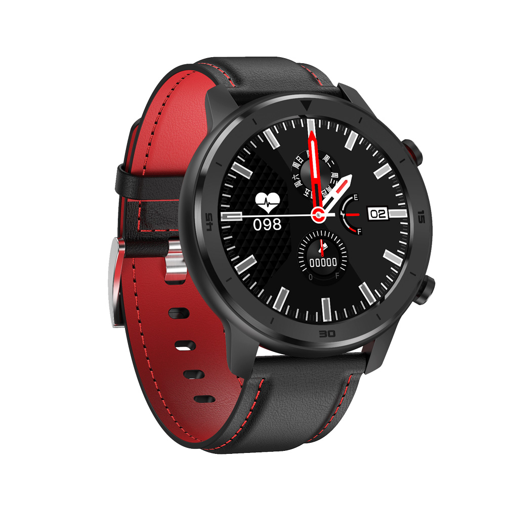DT78 1.3inch Full Round Full Touch Screen Smart  Watch Band Pedometer Smartwatch Men Women Heart Rate Monitor Smart Bracelet