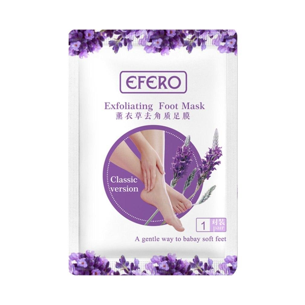 2Pcs Exfoliating Foot Mask Pedicure Socks Peeling For Feet Mask Remove Dead Skin Heels Foot Peeling Mask For Foot
