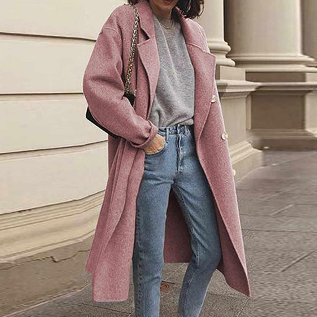 Manteau femme hiver 2020 casaco de inverno feminino casual manga longa senhoras outwear overcoat camisola casacos de pele do falso casaco abrigo mujer