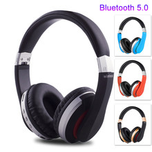 Wireless Headphones V5.0 Bluetooth Headset for Mobile Phone Mp3 Foldable Stereo Noise Reduction Gaming Music Earphones Deep Bass(China)