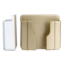 Paste Wall Mobile Phone Charging Stand Free of Disconnection Installation without Punching FKU66