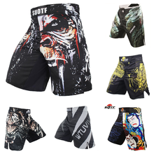 Shorts Competition Tiger MMA Training Muay-Thai And Falcon Technical Performance