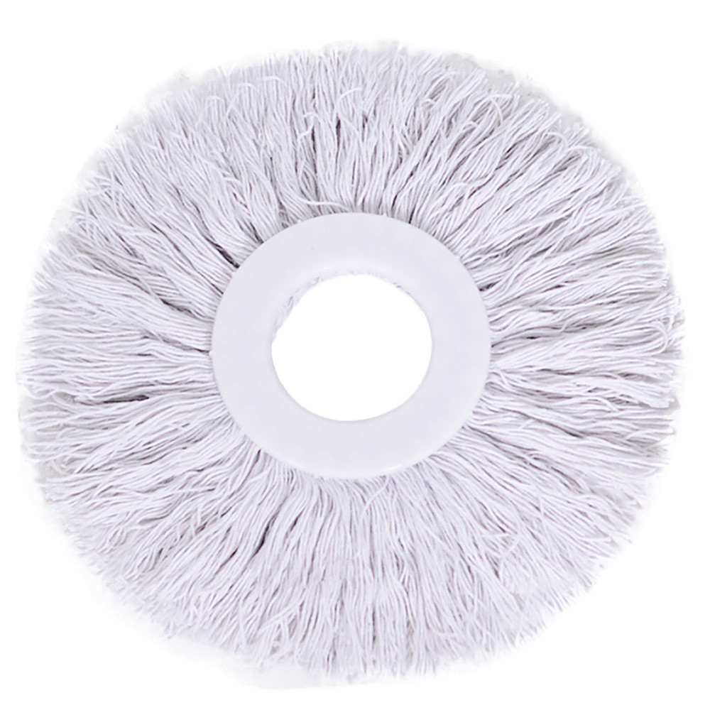 White Transer 360 Rotating replacement mop head Easy Magic Microfiber Spin Mop Head