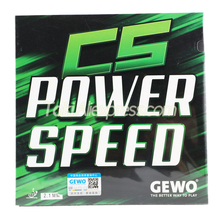 Rubber Table-Tennis Ping-Pong-Sponge GEWO Pips-In Cs-Power SPEED Original