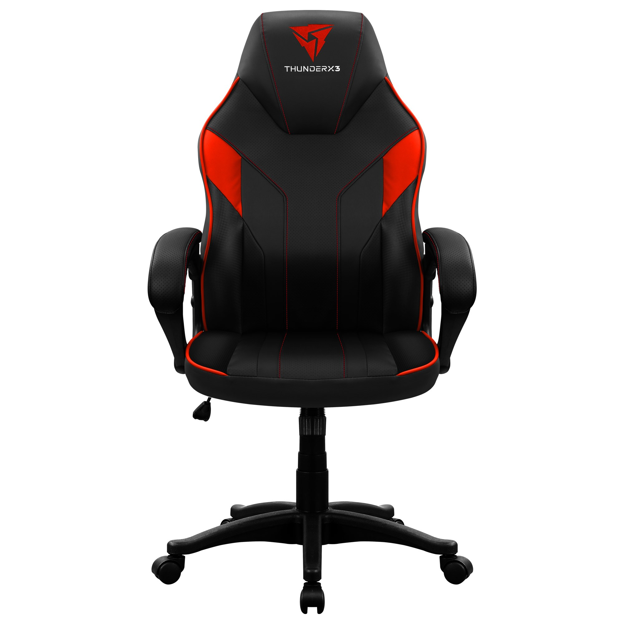 ThunderX3 EC1, Chair Gaming Ergonomic, Technology AIR, Armrest Padded, Adjustable Height, Red