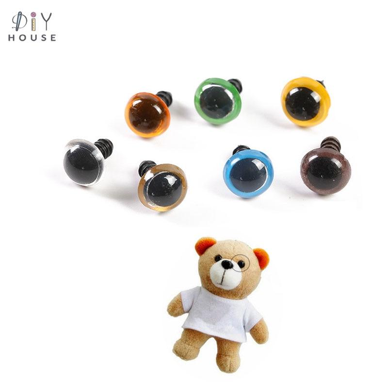 10//50pcs Plastic Safety Cartoon Eyes For Teddy Bear Doll Animal Toy Making Craft