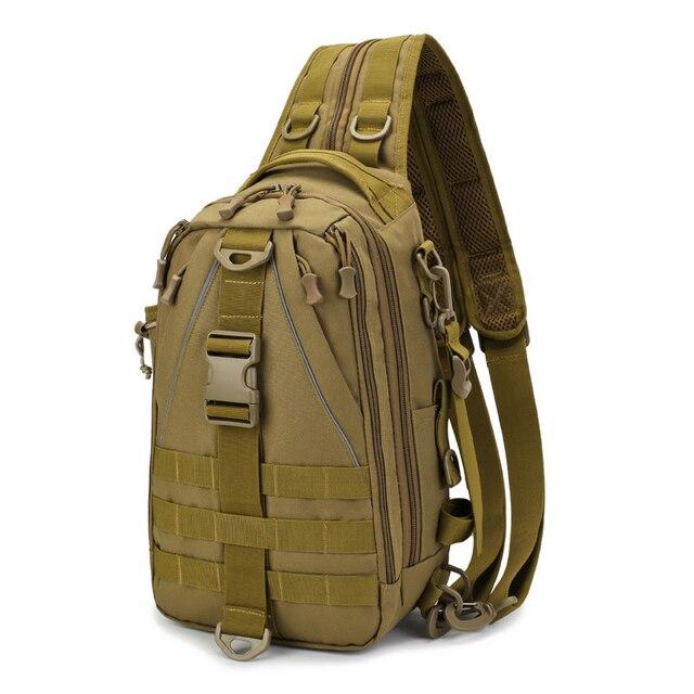 Sports Men Tactical Hiking Backpack Chest Bag Military Fishing Shoulder Sling Climbing Camping Mochila Militar 2019 New XA209D 3