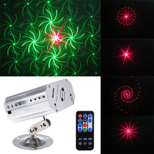 24 Pattern LED Disco Light Stage Laser RGB Projection Show For Family Party KTV DJ Dance Floor