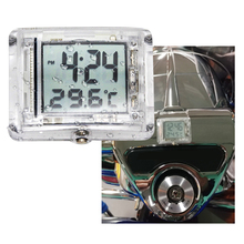 Motorbike Clocks Watch Waterproof Stick On Motorcycle Digital Clock Universal For Yamaha Honda Suzuki KTM Etc Moto Accessories