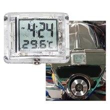 Zegary motocyklowe zegarek wodoodporny Stick On motocykl cyfrowy zegar uniwersalny dla Yamaha Honda Suzuki KTM itp moto akcesoria