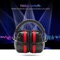 Складные защитные наушники с шумоподавлением, защита для ушей с шумоподавлением