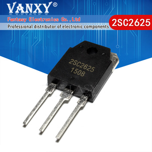 Image 1 - 5pcs 2SC2625 TO 3P C2625 TO3P כוח טרנזיסטורים (10A,400V,80W) חדש ומקורי