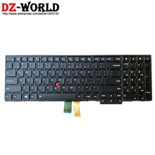 New EUA Inglês Teclado Retroiluminado para Lenovo Thinkpad T540P W540 W541 T550 W550S T560 P50S Backlight Teclado Do Laptop