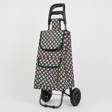Outdoor Shopping Trolley Bag With Wheels Portable Foldable Multifunctional Shopping Cart Reusable Waterproof Bag Kitchen Storage