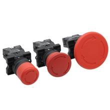 1 шт красный гриб переключатель аварийной остановки XB2-ES542 XB2-ES442 XB2-ES642 22 мм НЗ N/C кнопочный переключатель 600V 10A