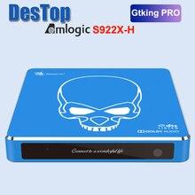 Beelink TV Box gt king Pro, sonido Dolby, Hi Fi, sin pérdidas, Dts, S922X H Amlogic, Android 9,0, 4GB, 64GB