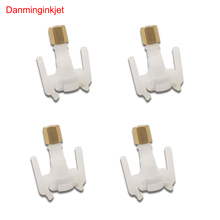4 pcs Epson DX5 TX800 XP600 printhead ink damper adapter for Mimaki JV33 JV5 Galaxy printer DX5 head ink dumper connector