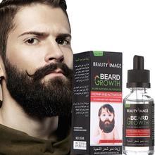 Oil Beard-Oil 40ML Moustache Hair Moisturizes Thicker Essential-D7h2 Men's Face