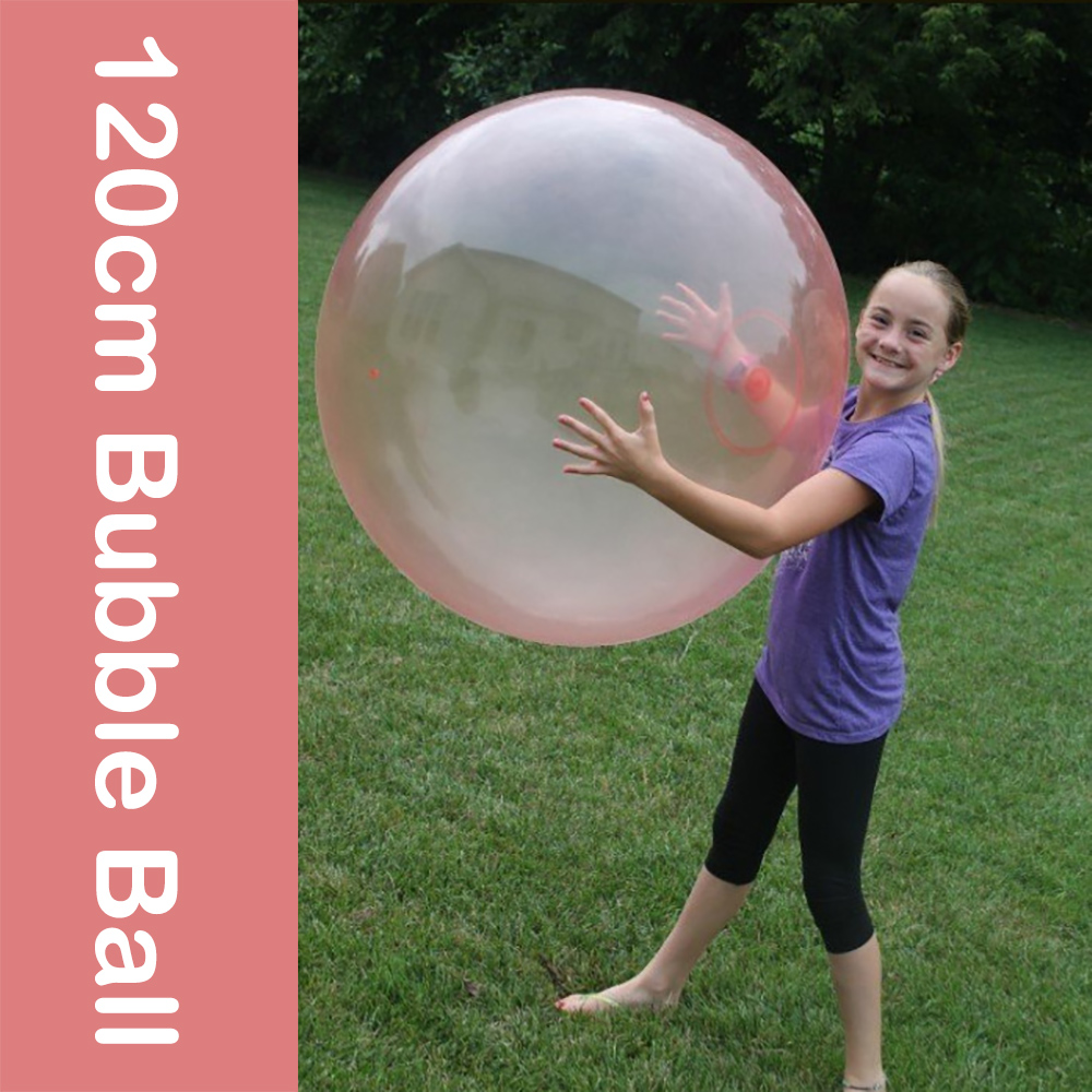 120cm giant bubble ball inflatable amazing bubble ball outdoor toys for kids children fun adults