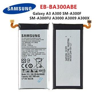 SAMSUNG Orginal EB-BA300ABE 1900mAh Battery For Samsung Galaxy A3 A300 SM-A300F SM-A300FU A3000 A3009 A300X Mobile Phone цена 2017