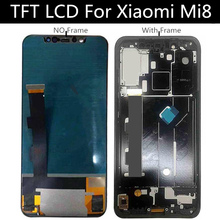 6.21 TFT LCD With Frame For Xiaomi MI Mi8 Mi 8 Display Touch Screen  Digitizer Assembly Replacement