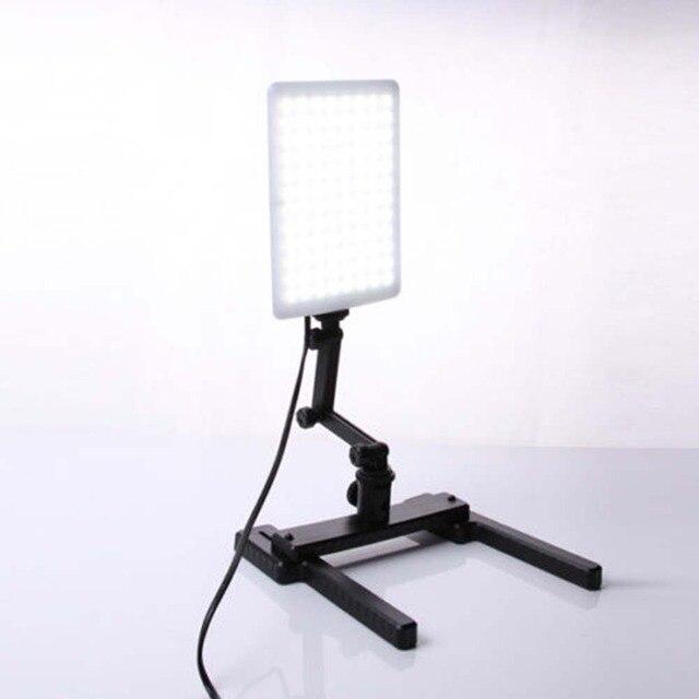 CN T96 18W 96 светодиодсветильник студийная Фотографическая лампа с регулируемым рычагом