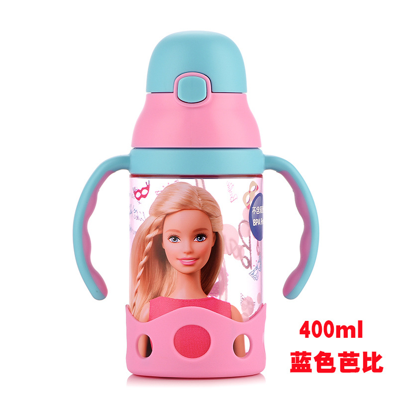 CHILDREN'S DAY Sale CHILDREN'S Cups Young STUDENT'S Shatter-resistant Plastic Water Bottle Kindergarten Baby Girls Portable Summ