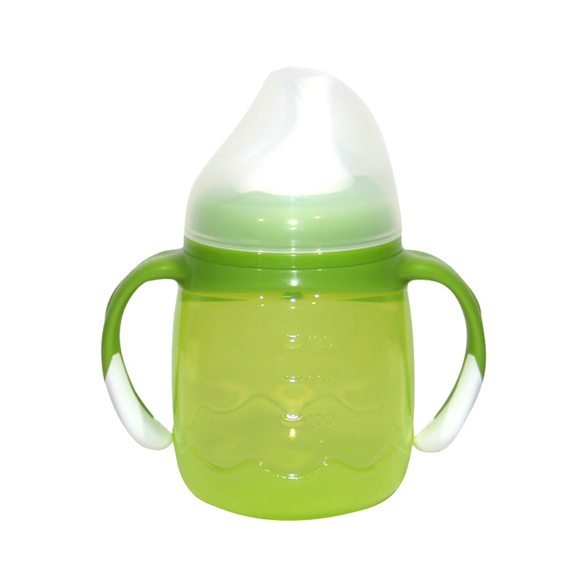 Pigeon Drinking Cup DA73 Children Baby Training Cup Duckbill-Type Training Cup Green